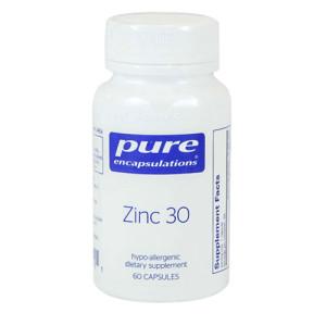 Zinc 30 - 60caps