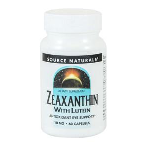 Zeaxanthin w Lutein